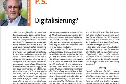 Digitalisierung?