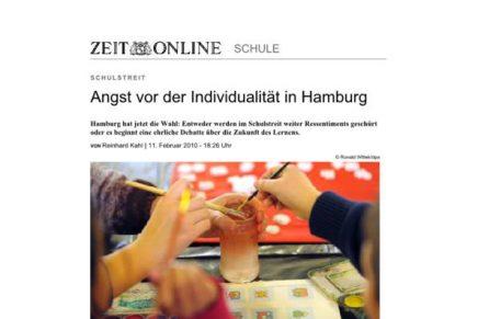 ZEIT online HH Angst vor Individualisierung