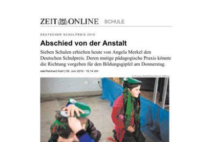 ZEIT online Abschied von der Anstalt