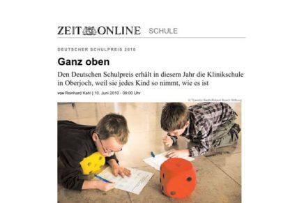 DIE ZEIT Schulpreis Preisträger