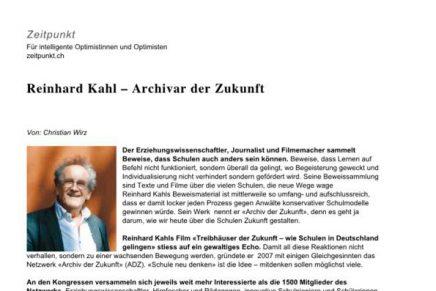 Zeitpunkt CH ueber Reinhard Kahl
